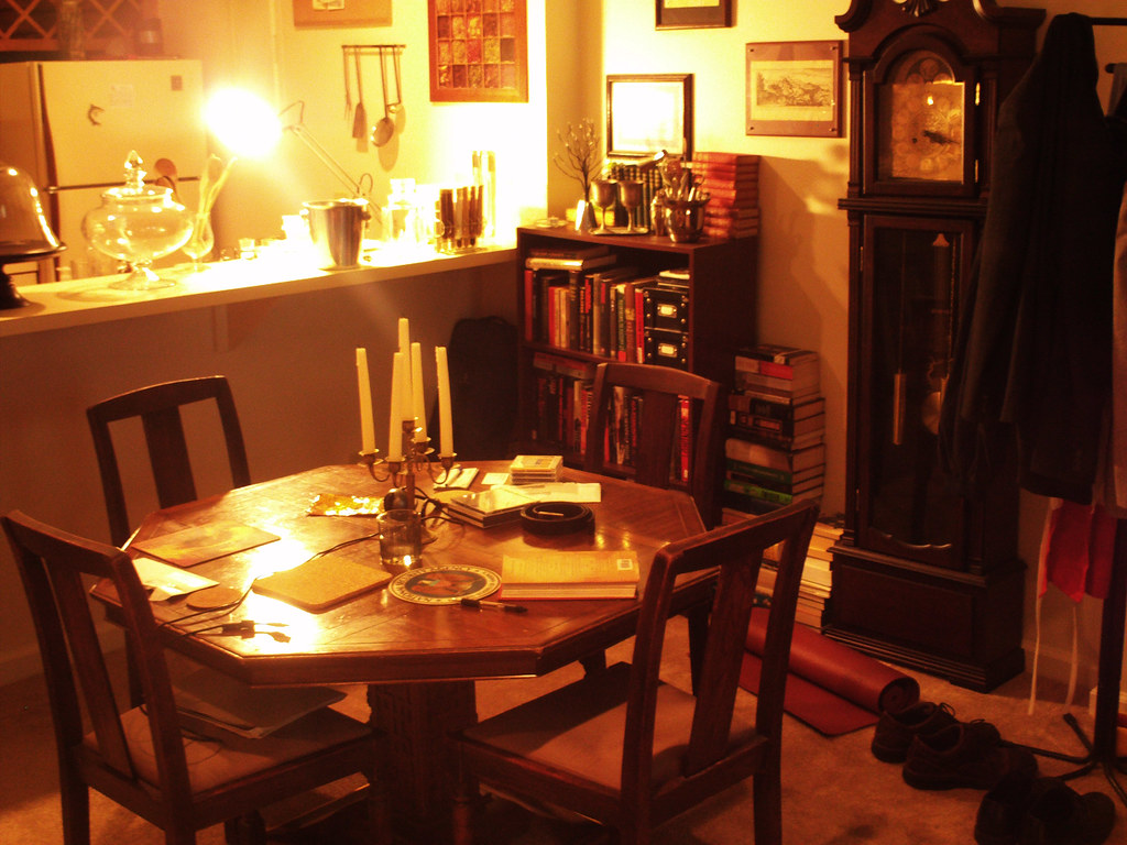 The Steam Punk Home, Dining Room