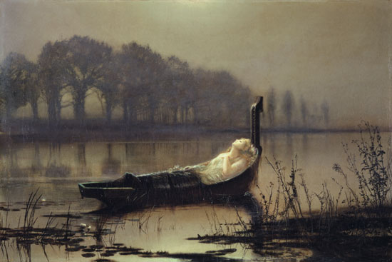 Lady of Shalott Grimshaw