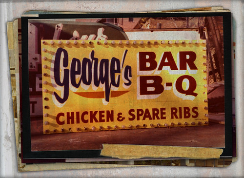 George's Bar B-Q by Kim Yokota