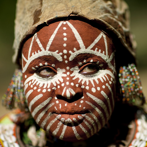 Kikuyu woman tribe - Kenya