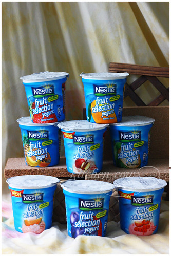 Nestle Fruit Selections Yogurt