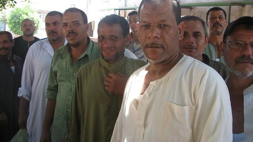 اضراب عمال شركة طنطا للكتان والزيوت by you.