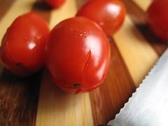 Crossed tomatoes