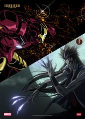 090726(2) - 日本電視動畫版『鋼鐵人』『金鋼狼』的首張宣傳海報以及兩支預告片,同時公開