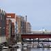 Ware houses and Bakkebro/bridge