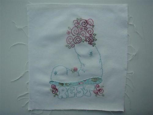 Shabby Roses Block 6 (Rest)