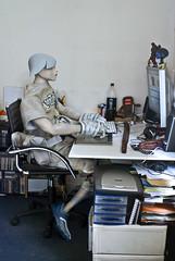 Geek TK Naga (nael.) Tags: computer naked toys actionfigure geek internet surfing 3a photoediting sword photomontage tk naga tq ashleywood photoretouching oyabun nael retouchephoto naël threea tomorowking tomorowqueen