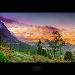 As I Stand Here (Mike Golding) Tags: light mountains colour clouds sunrise landscape southafrica rocks raw natural rich naturallight 24mm locations westerncape franschhoek f20 ef24105l capefoldbelt