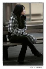 Waiting (yoyomaoz) Tags: street mall photography adelaide rundle petermaynard lifeinshadows