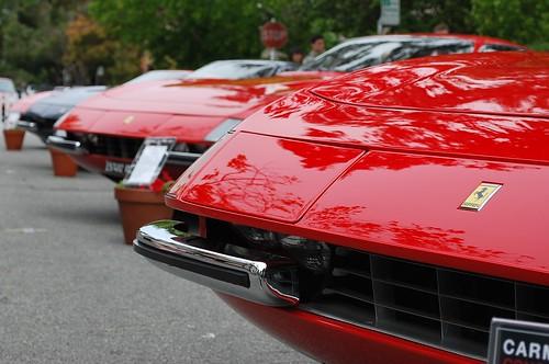 Ferrari row