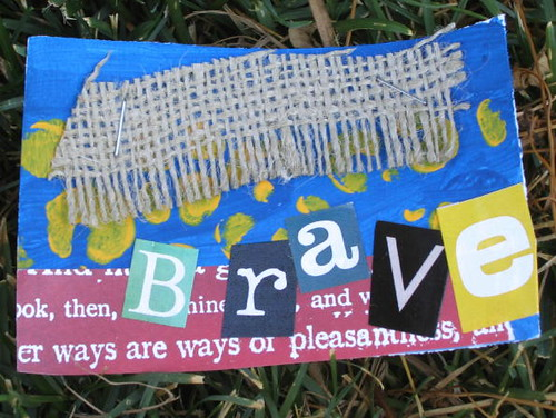 Brave ACEO/Affirmation Card
