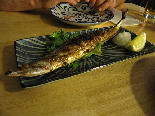 grilled sanma