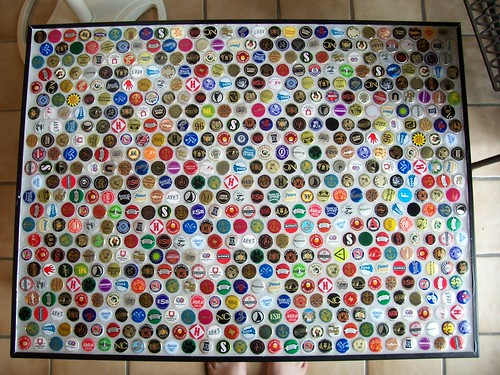 Bottle Cap Coffee Table