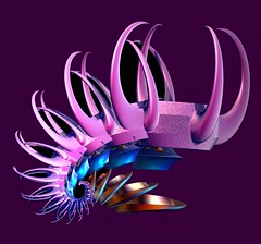 Warrior Head Piece (freetoglow (Gloria)) Tags: fractal artcafe incendia wowiekazowie eyecandyart photoartwork krazeekool sharingart theperfectpinkdiamond cffaa amazingeyecatcher