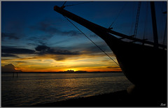 Cruising Sunset (Lohb) Tags: sunset silhouette ship awesome cruising 1740 klang llens 40d tanjungharapan canon40d cruisingsunset