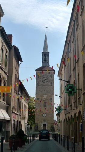 vue sur la tour Jaquemart