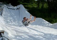 (wozischra) Tags: water festival jump 1st slide slip waterslide bleed heinebach