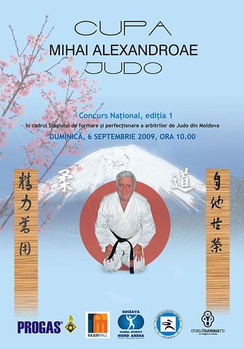 6 Septembrie 2009 » Cupa Mihai Alexandroae la judo