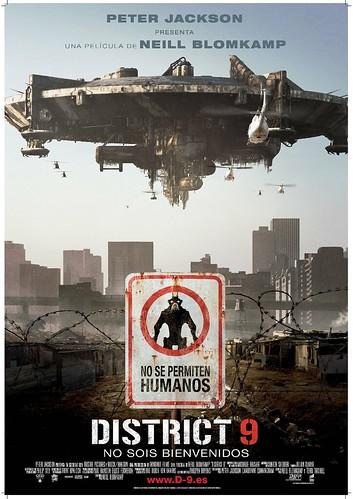 Trailer y un par de carteles de 'District 9′