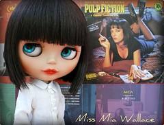 Miss Mia Wallace é uma Ebony!