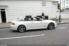 BMW M6 (gthmm) Tags: road white london hans harrods bmw m6