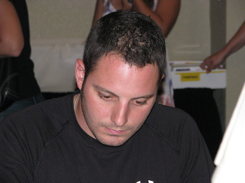 Johnny Sauter, who was the race winner.