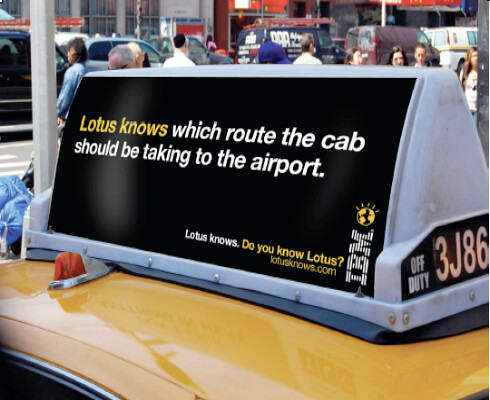 Lotus knows taxi