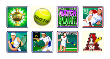 free Centre Court slot game symbols