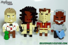 CubeDude Firefly Cast - Group Shot