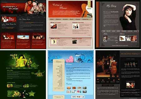 templates de sites gratuitos