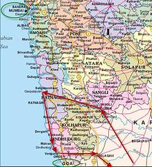 Konkan Map (Kakgda) Tags: konkan