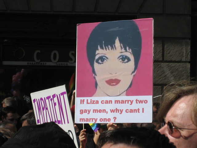 If Liza can marry two gay men, why can't I marry one?