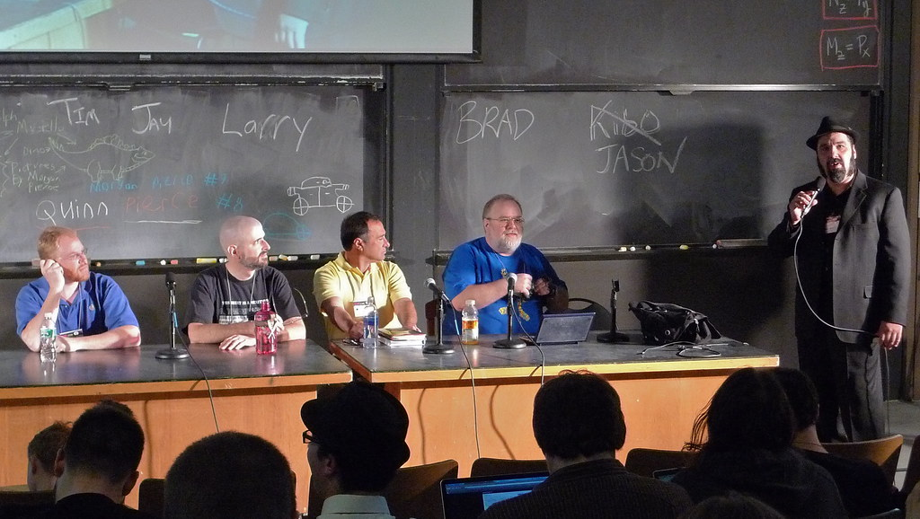 Heroes of Usenet panel @ ROFLcon