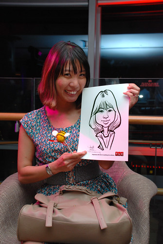 Caricature live sketching for TLC - 31