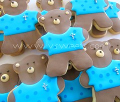 Teddy Bear cookies (L&V sweets) Tags: laura