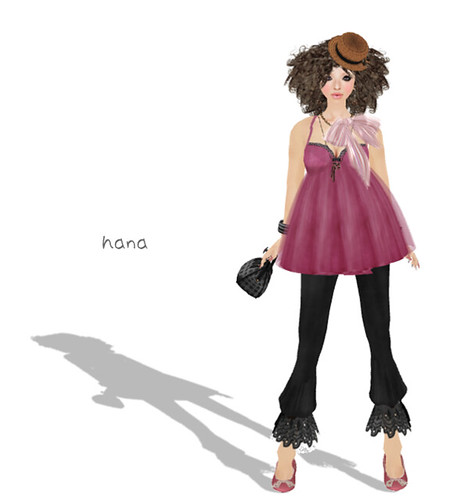 **Honey*Soul-Doll-Dress(Rose-Pink)-LS