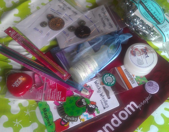 Goody bag loot 2