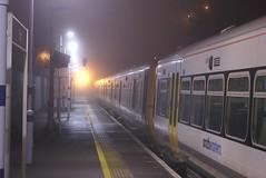 Ghost Train (crashcalloway) Tags: station weather misty fog night emu erith southeastern class465 minoltaamount