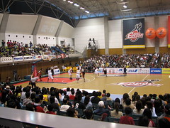 Osaka Evessa Vs Sendai 89ers - Kadoma, Osaka, Japan 2 (glazaro) Tags: city basketball japan japanese asia stadium arena dome  osaka sendai kansai kadoma namihaya bjleague evessa 89ers