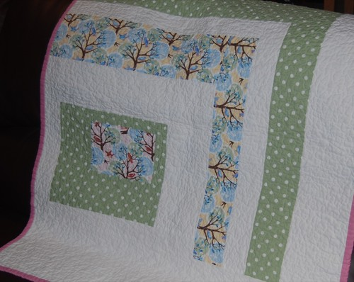 Baby quilt by you.