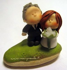 mini bride and groom (marytempesta) Tags: