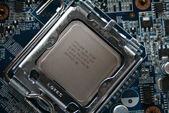 Intel Core 2 Duo E7300 CPU (William Hook) Tags: windows home computer pc dvd high media reader personal theatre ultimate space sony centre samsung 7 card shuttle definition writer hd cpu motherboard ram burner hdd cramped sff htpc restrictions ddr2 720p 1080i 1080p akasa hsf ocz 500gb
