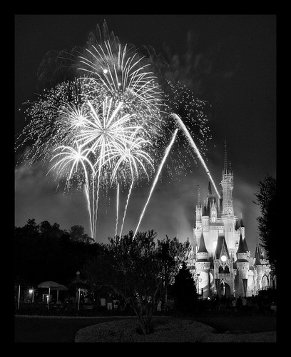 Disney - The Wonderful World of Color - In Black & White - Wishes (Explored) by Express Monorail