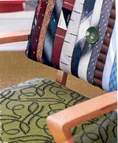 Necktie Upholstery