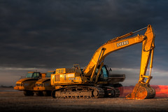 Tonka (jrobfoto.com) Tags: unitedstates earth equipment dirt prairie digger tonka springbrook jonathanrobsonphotographycom viapixelpipe frontenacillinois tonkaflickr