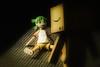 First encounter (kktp_) Tags: toys nikon manga yotsuba danbo 50mmf14d d80 danboard