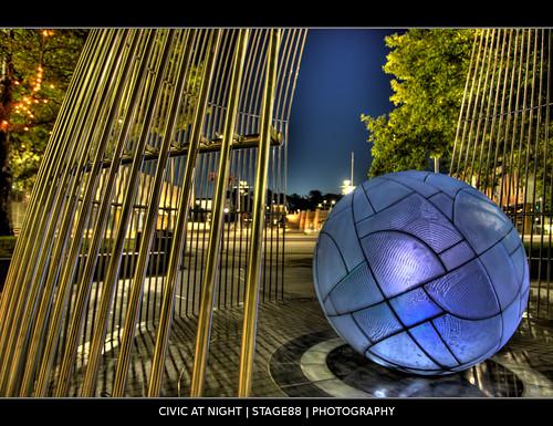 Civic At Night - Sam Ilic - STAGE88