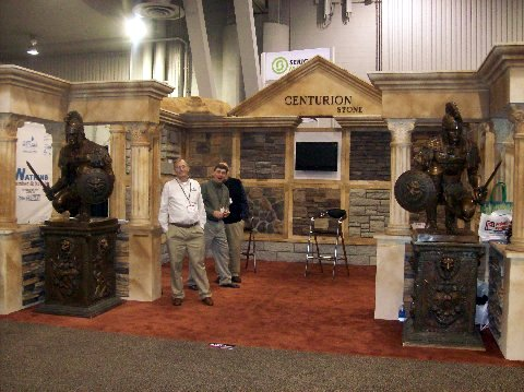 Centurion Stone Booth @ IBS