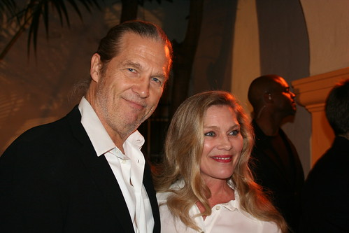 Jeff Bridges and Partner Susan Geston sbiff 2009