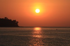 Amazing sunset (sciack) Tags: sunset phuket bangtaobeach